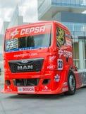 2015 FIA European Truck Racing Championship Stock Foto's