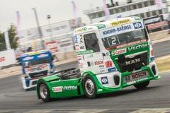 2015 FIA European Truck Racing Championship Royalty-vrije Stock Foto's