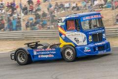 2015 FIA European Truck Racing Championship Stock Afbeelding