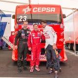 2015 FIA European Truck Racing Championship Royalty-vrije Stock Afbeelding
