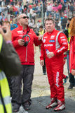 2015 FIA European Truck Racing Championship Antonio Albacete Royalty-vrije Stock Afbeeldingen