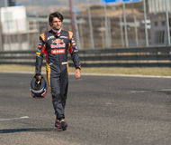 2015 FIA European Truck Racing Championship Carlos Sainz Stock Fotografie