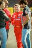 2015 FIA European Truck Racing Championship Carlos Sainz en Stock Afbeelding