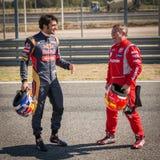2015 FIA European Truck Racing Championship Carlos Sainz en Royalty-vrije Stock Afbeelding