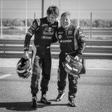 2015 FIA European Truck Racing Championship Carlos Sainz en Royalty-vrije Stock Afbeeldingen
