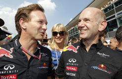 FIA F1 World Championship Monza 2011 Royalty Free Stock Photo