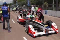 FIA Formula E raceday Putrajaya, Malaysia royalty free stock photography