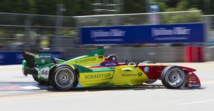 FIA Formula E raceday Putrajaya, Malaysia Stockbild