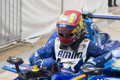 FIA Formula E raceday Putrajaya, Malaysia Stock Photo