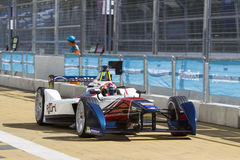 FIA Formula E raceday Putrajaya, Malaysia Royalty Free Stock Images