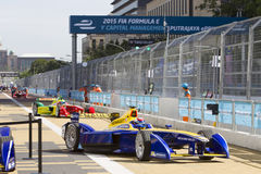 FIA Formula E raceday Putrajaya, Malaysia Royalty Free Stock Photo