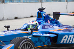 FIA Formula E raceday Putrajaya, Maleisië Royalty-vrije Stock Foto's