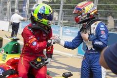 FIA Formula E raceday Putrajaya, Maleisië Stock Fotografie