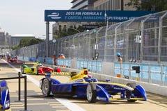 FIA Formula E raceday Putrajaya, Maleisië Royalty-vrije Stock Foto