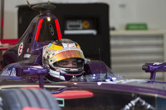 FIA Formula E raceday Putrajaya, Maleisië Royalty-vrije Stock Afbeelding