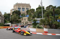FIA Formula 1 Monaco Grand Prix with GP2 and Porsche Supercup Stock Image