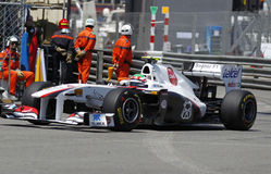 FIA Formula 1 Monaco Grand Prix with GP2 and Porsche Supercup Royalty Free Stock Photo