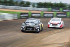 FIA Rallycross Światowy mistrzostwo Obrazy Stock