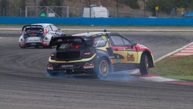 FIA Rallycross Światowy mistrzostwo Fotografia Stock