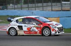 FIA Rallycross Światowy mistrzostwo Zdjęcie Royalty Free
