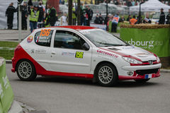 FIA World Rally Championship France 2013 - Super Special Stage 1 Royalty Free Stock Photos