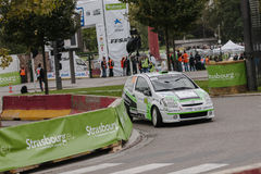 FIA World Rally Championship France 2013 - Super Special Stage 1 Stock Photos
