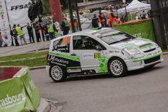 FIA World Rally Championship France 2013 - Super Special Stage 1 Stock Image