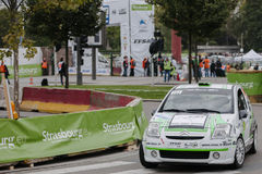 FIA World Rally Championship France 2013 - Super Special Stage 1 Stock Photography