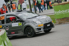 FIA World Rally Championship France 2013 - Super Special Stage 1 Royalty Free Stock Image