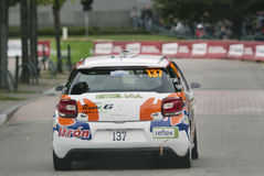 FIA World Rally Championship France 2013 - Super Special Stage 1 Royalty Free Stock Photography