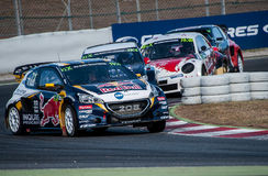 FIA WORLD RALLYCROSS OF BARCELONA 2016 Stock Image
