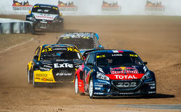 FIA WORLD RALLYCROSS OF BARCELONA 2016 Stock Photography