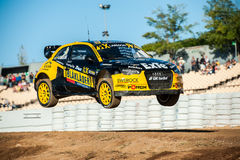 FIA WORLD RALLYCROSS OF BARCELONA 2016 Royalty Free Stock Photo