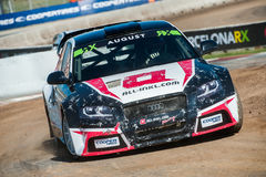 FIA WORLD RALLYCROSS OF BARCELONA 2017 Stock Image