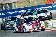 FIA WORLD RALLYCROSS OF BARCELONA 2017 Stock Photography