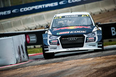 FIA WORLD RALLYCROSS OF BARCELONA 2017 Royalty Free Stock Images