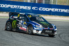 FIA WORLD RALLYCROSS OF BARCELONA 2017 Royalty Free Stock Image