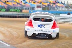 FIA World Rallycross Championship Fotografie Stock