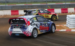 FIA World Rallycross Championship Photographie stock libre de droits