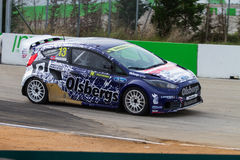 FIA World Rallycross Championship Lizenzfreie Stockfotos