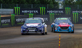 FIA World Rallycross Championship Royaltyfria Bilder