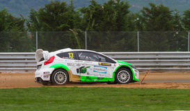 FIA World Rallycross Championship Royalty-vrije Stock Foto
