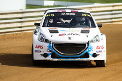 FIA World Rallycross Championship Royalty-vrije Stock Fotografie