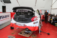 FIA World Rallycross Championship Stock Foto's