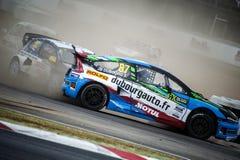FIA WORLD RALLYCROSS CHAMPIONSHIP. JB DUBOURG Stock Images