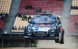 FIA WORLD RALLYCROSS CHAMPIONSHIP. KEVIN HANSEN Royalty Free Stock Images