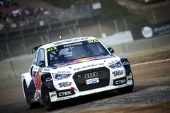 FIA WORLD RALLYCROSS CHAMPIONSHIP. MATTIAS EKSTROM Stock Photography