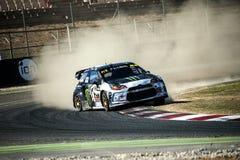 FIA World Rallycross Championship Petter Solberg fotografía de archivo
