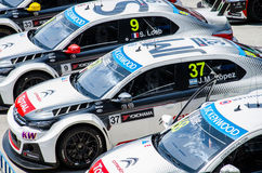 2015 FIA World Touring Car Championship Stock Photography