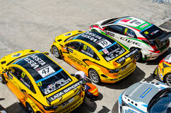 2015 FIA World Touring Car Championship Stock Images